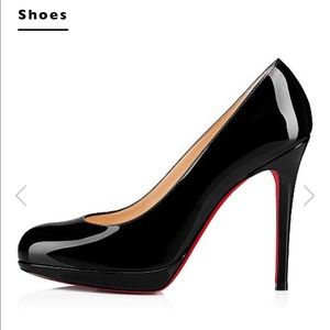 Christian Louboutin New Simple 120 Patent Pump